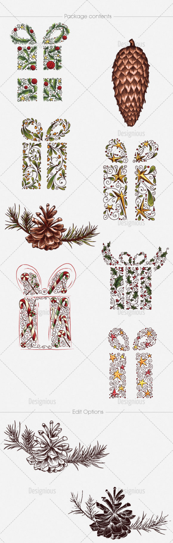 Christmas Vector Pack 20 products designious vector christmas 20 large