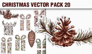 Christmas Vector Pack 20 Vector packs [tag]