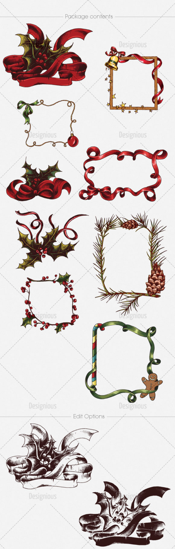 Christmas Vector Pack 21 products designious vector christmas 21 large
