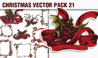 Christmas Vector Pack 21 Holidays [tag]