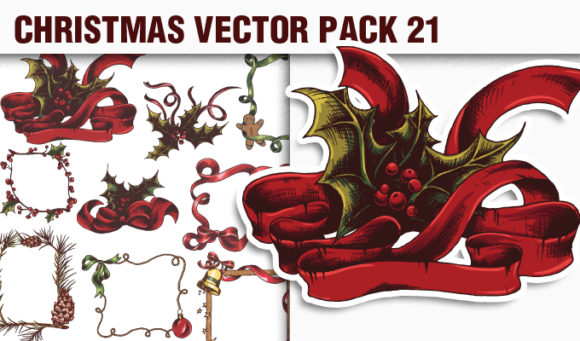 Christmas Vector Pack 21 products designious vector christmas 21 small