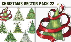 Christmas Vector Pack 22 Holidays [tag]