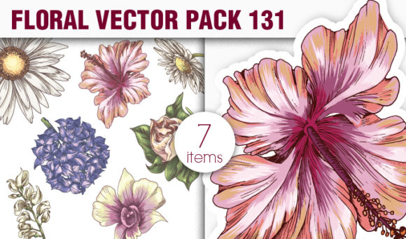 Floral Vector Pack 131 5