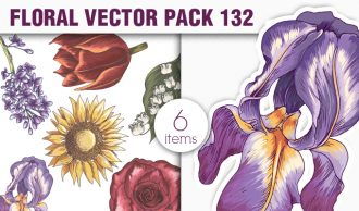 Floral Vector Pack 132 Floral [tag]