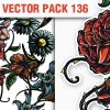 Floral Vector Pack 135 products designious vector floral 136 small
