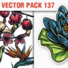 Floral Vector Pack 137 3