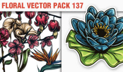 Floral Vector Pack 137 Floral [tag]