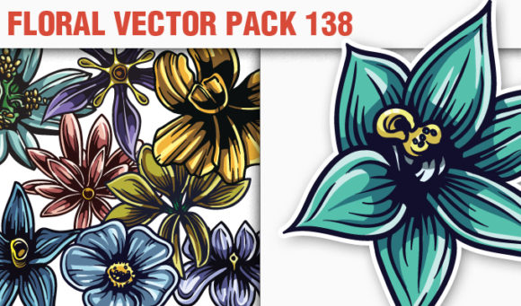 Floral Vector Pack 138 5