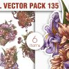 Floral Vector Pack 134 products designious vector floral bouquets 135 small