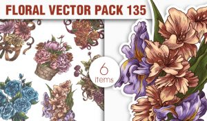 Floral Vector Pack 135 Floral [tag]