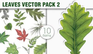 Leaves Vector Pack 2 Nature [tag]