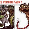 Spiders Vector Pack 1 products designious vector reptiles 1 small