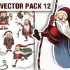 Shields Vector Pack 5 products designious vector santa 12 small