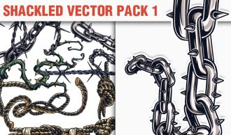 Shackled Vector Pack 1 Heraldry [tag]