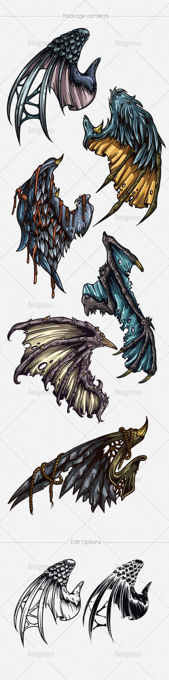 Wings Vector Pack 21 6