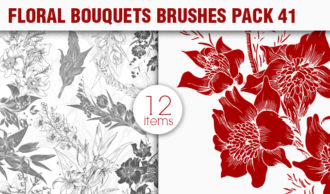 Floral Brushes Pack 41 Floral brushes [tag]