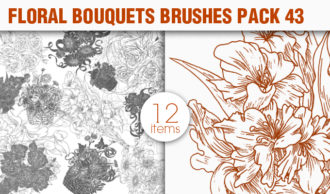 Floral Brushes Pack 43 Floral brushes [tag]