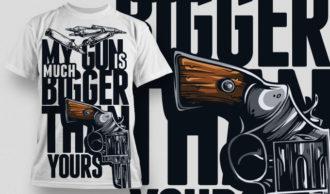 T-shirt Design 546 T-shirt Designs and Templates vector