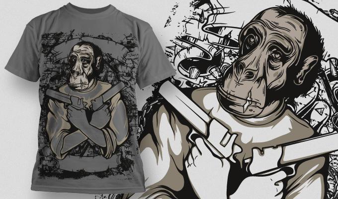 T-shirt Design 551 T-shirt designs and templates vector