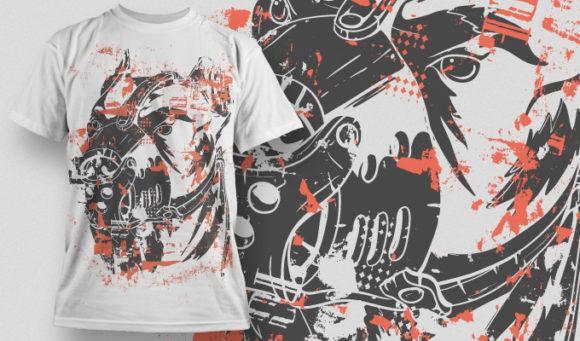 T-shirt Design 563 T-shirt Designs and Templates vector