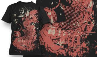 T-shirt Design 565 T-shirt Designs and Templates vector