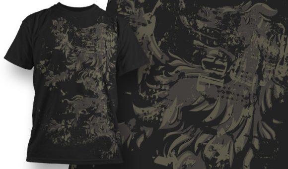 T-shirt Design 566 T-shirt Designs and Templates vector