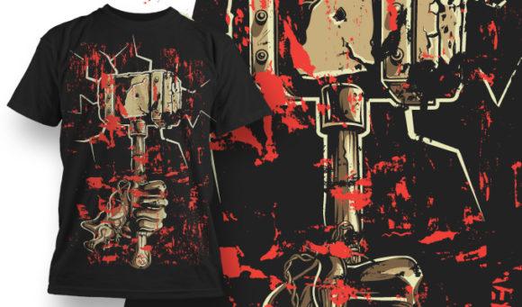 T-shirt design 569 T-shirt Designs and Templates vector