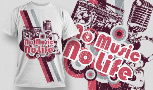 T-shirt Design 571 T-shirt Designs and Templates vector