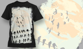 T-shirt Design 572 T-shirt Designs and Templates vector