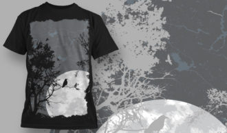 T-shirt Design 573 T-shirt Designs and Templates tree