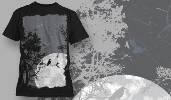 T-shirt Design 573 T-shirt Designs and Templates tree