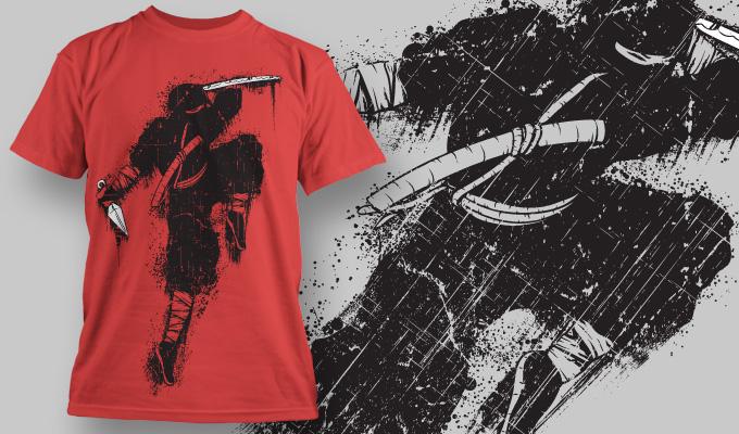 T-shirt Design 576 T-shirt designs and templates vector