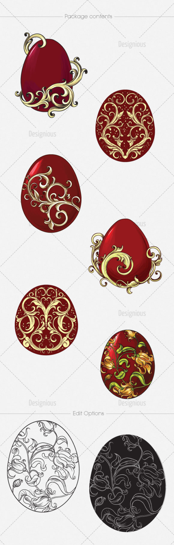 Easter Vector Pack 1 6