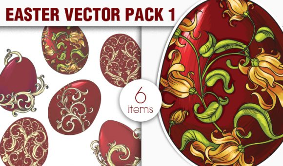Easter Vector Pack 1 5