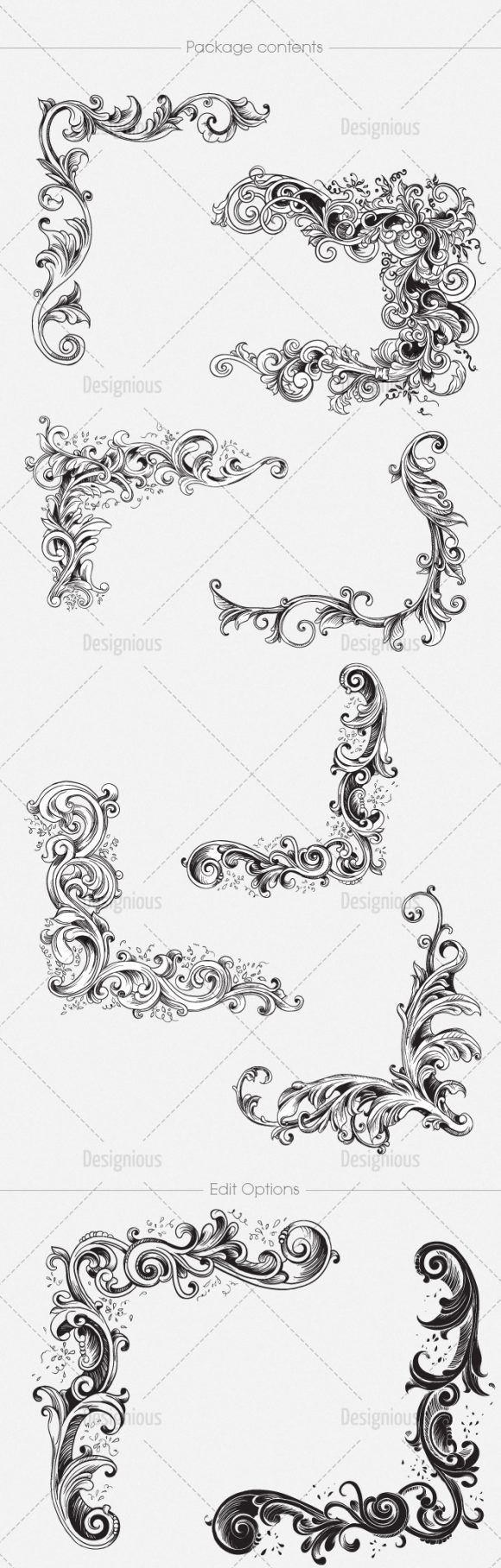 Free Floral Vector Pack 139 2