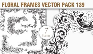 Free Floral Vector Pack 139 Freebies [tag]