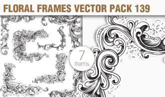 Free Floral Vector Pack 139 Freebies [tag]