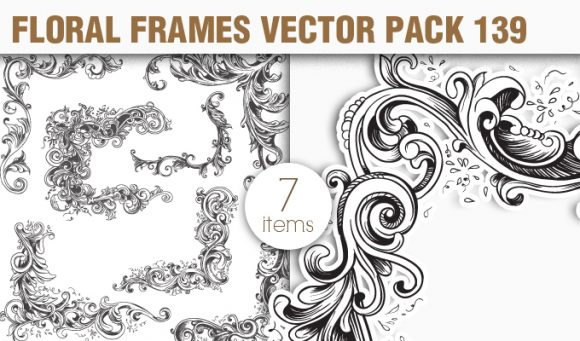 Free Floral Vector Pack 139 1