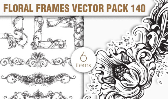 Floral Vector Pack 140 5