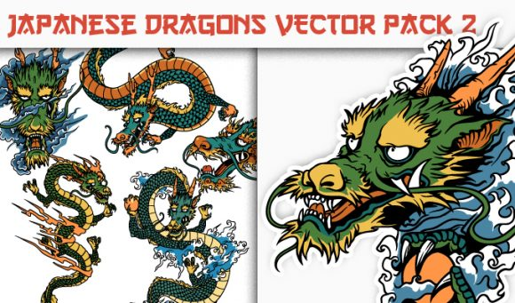 Dragons Vector Pack 2 5