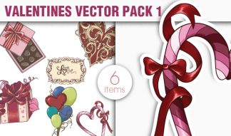 Valentines Day Vector Pack 1 Holidays [tag]