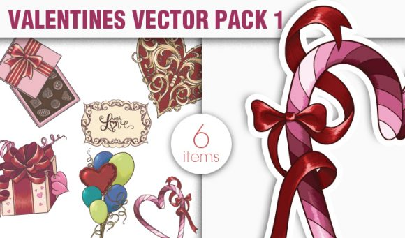 Valentines Day Vector Pack 1 5