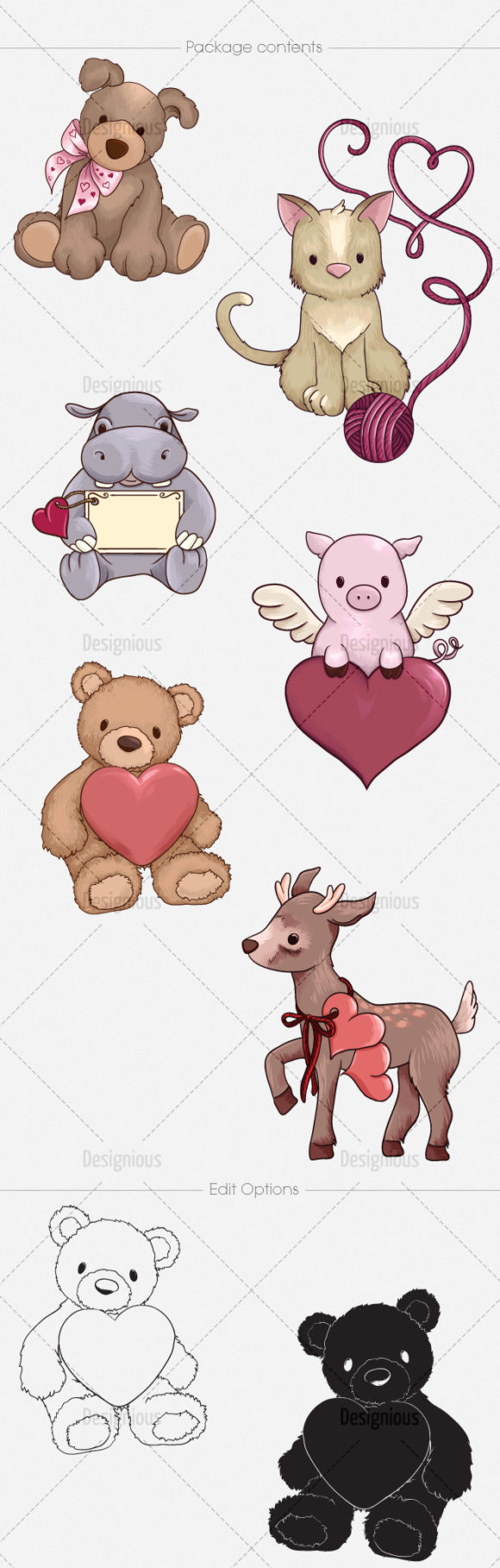 Valentines Day Vector Pack 2 6