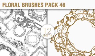Floral Brushes Pack 46 Floral brushes [tag]