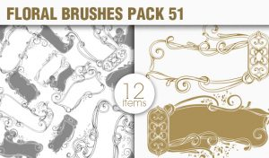 Floral Brushes Pack 51 Floral brushes [tag]