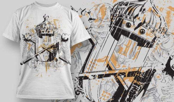 T-shirt Design 580 T-shirt Designs and Templates vector