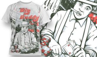 T-shirt Design 587 T-shirt Designs and Templates vector