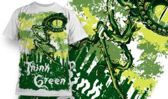 T-shirt Design 589 T-shirt Designs and Templates vector
