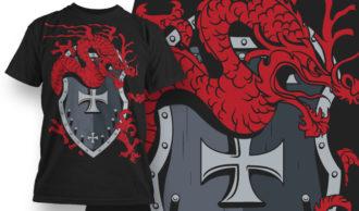 T-shirt Design 595 T-shirt Designs and Templates vector