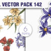 Floral Vector Pack 142 3
